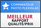 Pixum obtient la 2nde place dans notre test de comparaison photo sur Plexiglas