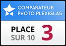 Foto.com obtient la 3ème place dans notre test de comparaison photo sur Plexiglas