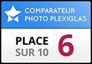 Photocité obtient la 6ème place dans notre test de comparaison photo sur Plexiglas