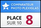 Photobox obtient la 7ème place dans notre test de comparaison photo sur Plexiglas
