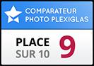 Mydesign.com obtient la 9ème place dans notre test de comparaison photo sur Plexiglas